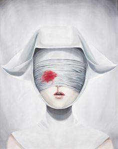 """Virgins of Perverseness"" exhibition (Oils) on Behance"