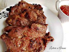 ceafa de porc cu bere Jacque Pepin, Food And Drink, Lunch, Meat, Cooking, Travel, Pork, Kitchen, Viajes