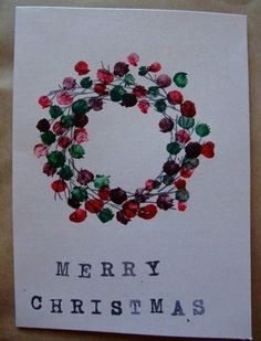 Best Easy DIY Christmas Card Ideas - Christmas Celebration - All about Christmas So you've decided to make your own DIY Christmas cards? Well, we have compiled some of the best and easy Christmas card ideas that may [. Diy Christmas Decorations Easy, Christmas Card Crafts, Homemade Christmas Cards, Holiday Cards, Christmas Cards Handmade Kids, Childrens Christmas Card Ideas, School Christmas Cards, Christmas Card Images, Homemade Cards