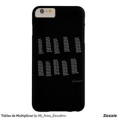 Tablas de Multiplicar Funda Para iPhone 6 Plus Barely There