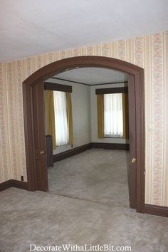 arched with pocket doors Swinging Doors, Pocket Doors, Oversized Mirror, Arch, Crafty, Future, Bedroom, Home Decor, Longbow