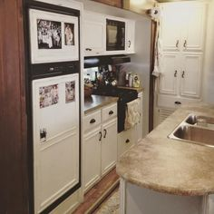 RV Remodel by a family of four living and traveling full time in their motor home