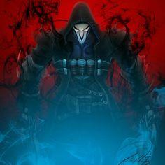 Reaper fanart from OVERWATCH