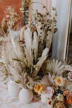 Bohemian | Browse Wedding & Party Ideas | 100 Layer Cake Boho Wedding, Bohemian Weddings, 100 Layer Cake, Floral Wreath, Reception, Wreaths, Table Decorations, Party Ideas, Floral Crown