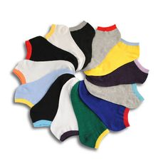 Men's socks Spring and summer casual fashion male socks invisible shallow mouth thin standard size 10pairs/lot