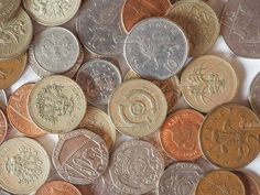 Pound coin. Business Photos