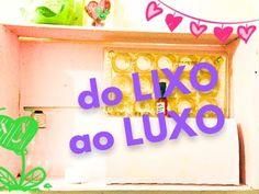 #DOLIXOAOLUXO - 3 IDEIAS DE RECICLAGEM PARA SUA DECORAÇÃO - YouTube