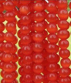 6mm red jasper beads