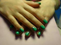 #green nails