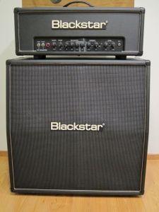 Blackstar HT Club 50 head  Blackstar HTV-412A cabinet
