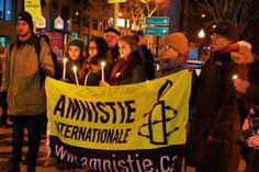 Raif Badawi: Amnistie internationale sollicite Justin Trudeau - Actualités - Québec Hebdo - VIGILE. Le boulevard Charest était le théâtre, mercredi soir, d'une vigile en soutien à Raif Badawi et aux autres prisonniers d'opinion. La directrice générale d'Amnistie internationale, Béatrice Vaugrante, était présente à la veille de la 100e vigile pour soutenir le blogueur emprisonné en Arabie-Saoudite depuis 2012.