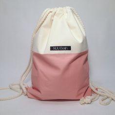 Dusky pink / gymbag turnbeutel sports bag hipster bag by NUUBerlin