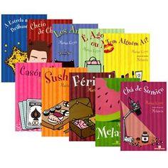 Delíciaaa .... Coleção Marian Keyes (10 Volumes) só não lia estrela mais brilhante do céu. Lendo Chá de Sumiço.