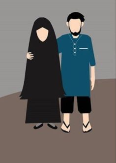 Wedding couple cartoon muslim Ideas for 2020 Wedding Couple Cartoon, Wedding Couple Pictures, Love Cartoon Couple, Wedding Couples, Cartoon Family, Muslim Brides, Muslim Couples, Islamic Posters, Islamic Art