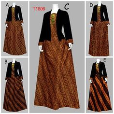 BAJU BATIK WANITA MOTIF JARIK T1806 Batik Fashion, Abaya Fashion, Muslim Fashion, Women's Fashion Dresses, New Dress Pattern, Dress Clothes For Women, Woman Clothing, Hijab Dress Party, Model Kebaya
