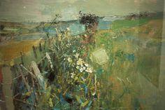 July Fields by Joan Eardley - Joan Eardley - Wikipedia, the free encyclopedia Landscape Artwork, Contemporary Landscape, Art For Art Sake, Glasgow, Painting Inspiration, Art Projects, Art Photography, Abstract Art, Illustration Art