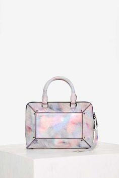 Aimee Kestenberg Tara Leather Crossbody Bag - Metallic - Accessories
