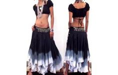 "GYPSY HIPPY BOHO PIXIE 500"" CIRCLE HIPPIE SKIRT F8 Image"