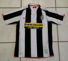 Rare NIKE Juventus FC Bianconeri Soccer Jersey  Men's Small  #Nike #Juventus
