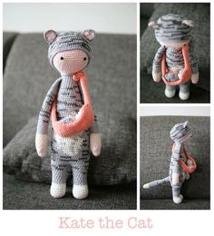 Cat mod made by Jessica V. / based on a lalylala crochet pattern