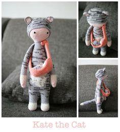 Cat mod made by Jessica V. / based on a lalylala crochet pattern