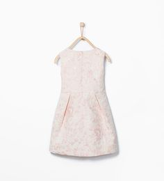 Image 2 de Robe à broderies fleurs de Zara
