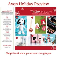 The Holidays are right around the corner. #Avon has some Great #GiftIdeas for everyone on your Holiday Shopping List! #ShopNow @ www.youravon.com/gkuper