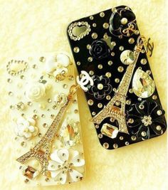 Chanel IPhone Case - less obviously is not more!!