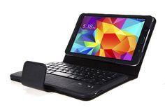 WAWO Samsung Galaxy Tab 4 8.0 Inch Tablet Smart Cover Creative Bluetooth Keyboard Case - Black -  Carefully crafted for samsung galaxy tab 4 8.0 inch tablet,protect your valuable tablet in the years... - http://buytrusts.com/giftsets/2015/09/27/wawo-samsung-galaxy-tab-4-8-0-inch-tablet-smart-cover-creative-bluetooth-keyboard-case-black/