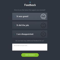 How a simple redesign increased customer feedback by 65% - Campaign Monitor