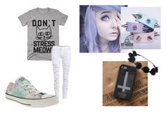 """""""Untitled #178"""" by fashon-crazy-love ❤ liked on Polyvore featuring Converse"""