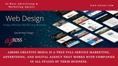 AJ Ross is a full-service Corporate Web Design Agency in Westchester NY delivering exceptional corporate web design services. For more details, call at Web Design Agency, Web Design Services, Advertising Agency, Search Engine Optimization, Business Marketing, Ads, Digital, Creative