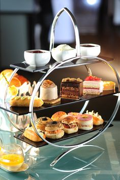 High tea with delights to have on an Art Deco styled stand. Enjoy. JH