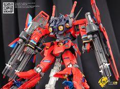 GUNDAM GUY: 1/100 Unicorn Gundam Neo Zeon Type - Custom Build Unicorn Gundam, Garage Kits, Gundam Model, Anime Art, The 100, Type, Building, Resin, Guy
