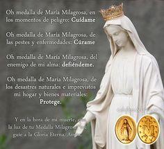 VIRGEN MARÍA, RUEGA POR NOSOTROS : MEDALLA MILAGROSA