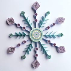 Snowflakes are one of nature's most fragile things , but just look at what they can do when they stick together. #QuillingByAslim #quilling #paperart #quilledpaperart #quilledart