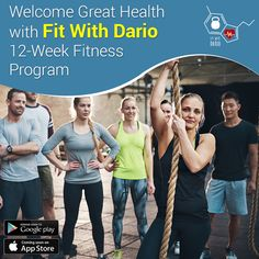 Welcome Great Health with Fit With Dario 12-Week Fitness Program.