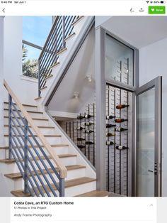 Wine Cellar Basement, Wine Cellar Design, Small Apartments, Contemporary, Modern, Custom Homes, Creative Design, Miami, Stairs