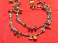 Southwestern MultiStone Necklace Turquoise by SweetBettysBling, $38.00