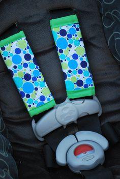 DIY car seat straps.... will modify for pram straps and ergo suck pads!