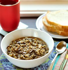wild rice and mushroom soup....Made this on 2/7/12 and it was a huge hit. Fantastic flavor!-sub for dairy