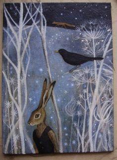Karen Davis  moonlightandhares.blogspot.com