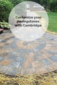 Customize your pavingstones with Cambridge. Cambridge Pavingstones with ArmorTec posses premium level, architectural surface finishes.