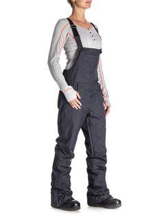 Roxy TORAH BRIGHT GLISTEN Women's Ski/Snowboard Bib Pants, M, Blue