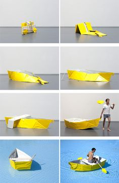Ar Vag Foldable Boat Kit by Thibault Penven