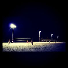 Night Beach Volleyball by Cintra Park, via Flickr