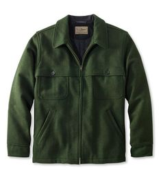 Find the best Men's Maine Guide Zip-Front Jac-Shirt with PrimaLoft at L. Our high quality Men's Outerwear and Jackets are thoughtfully designed and built to last season after season. Casual Outfits, Men Casual, Casual Wear, Hunting Shirts, Outdoor Apparel, Military Jacket, Menswear, Leather Jacket, Mens Fashion