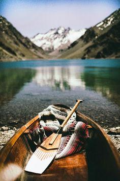 Made In Sheena - Le Blog: Mood Board du Jour / landscape barque lac montagne