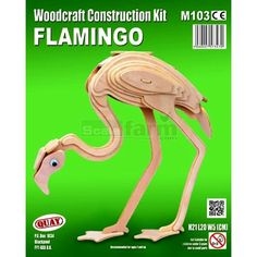 ScaleFarm.com: Quay Woodcraft Animals Construction Kits