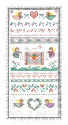 Angels Welcome - Cross Stitch Pattern